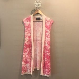Anthropologie Guinevere Floral Cardigan